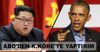 ABD'den Kuzey Kore'ye sert yaptırımlar
