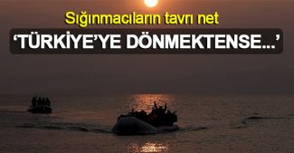"""Yunan adalarına çıkan sığınmacı: """"Türkiye'ye dönmektense ölürüm"""""""