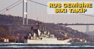Rus gemisi bu kez 'uçaksavar' ile geçti
