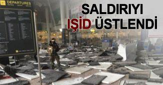 Brüksel saldırılarını IŞİD üstlendi