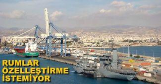 Limasol Limanı'nda özelleştirme karşıtı grev başladı