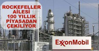 Rockefeller ailesi petrol piyasasından çekiliyor