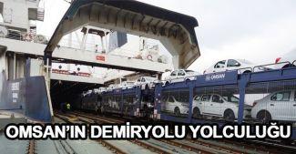 OMSAN'ın demiryolu yolculuğu