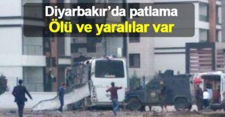 Diyarbakır Otogarı yakınlarında patlama