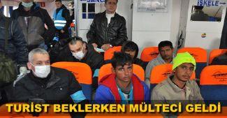 Turizmciler sıkıntılı:Turist kafilesi beklerken sığınmacılarla karşılaştık