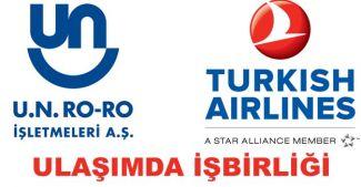 UN Ro-Ro'dan Türk Hava Yolları ile işbirliği