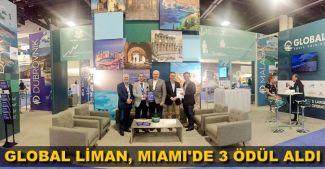 Global Liman İşletmeleri Miami'den 3 ödülle döndü
