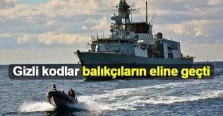 NATO'nun gizli kodları balıkçıların eline geçti
