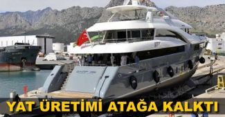 Antalya Serbest Bölge'de bu yıl, 51 yat denize indirilecek