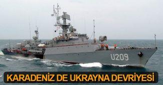 Ukrayna, Karadeniz'de devriye görevine başladı