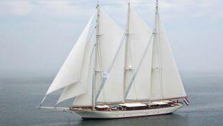 Dünyanın en büyük yelkenlisi Türkiye'de yapıldı