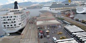 İzmir'de kruvaziyer turizmi 2018'de sıfırlandı