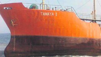 64 metrelik hayalet gemi karaya oturdu