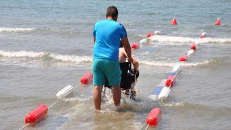 Muğla'da 'Engelsiz Sahil' projesi hayata geçirildi
