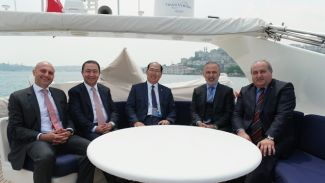 Türk Denizcilik sektörü temsilcileri, IMO Genel Sekreteri Kitack Lim ile biraraya geldi