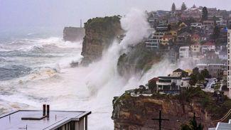 Sydney'de dev dalgalar