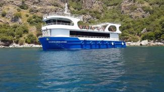 """Türk Loydu'nun klasladığı """"Semisubmarine"""" suya indirildi"""