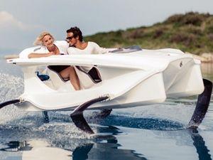 Elektrikli Deniz Aracı ile Su Yüzeyinde Uçmak