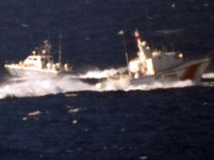 Türk Sahil Güvenlik'i 7/24 Kardak'ta kuş uçurtmuyor!